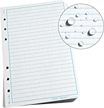 "product image for Rite In The Rain Weatherproof Loose Leaf Paper, 4 5/8"" x 7"", 32# White, Universal Pattern, 100 Sheet Pack (No. 372)"