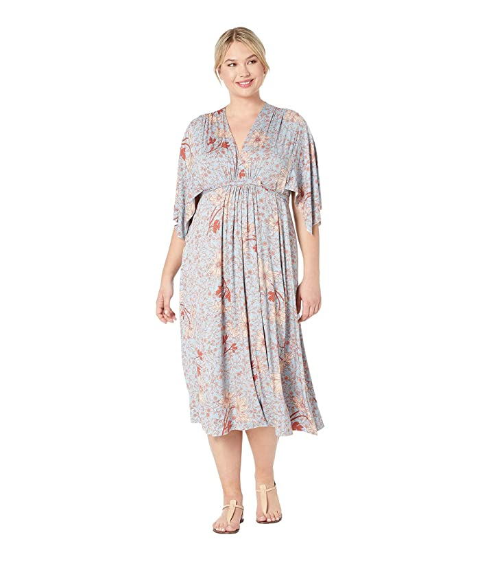 Rachel Pally Plus Size Mid-Length Caftan Dress (Prairie) Women's Dress