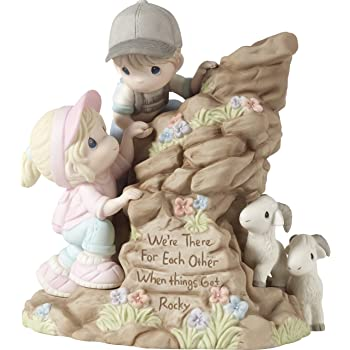 Precious Moments 172001 Everyday with You is Paradise Bisque Porcelain Figurine Limited Edition Couple in Pool Inc