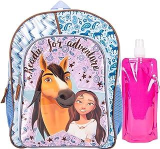 مجموعة حقائب الظهر Spirit Ride Combo - مجموعة حقيبة ظهر من 3 قطع - حقيبة ظهر، زجاجة مياه وكارابينا (وردي)