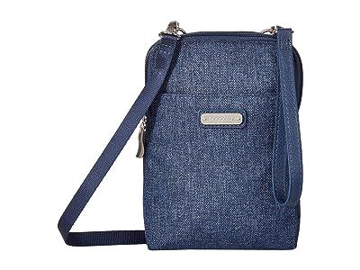 Baggallini New Classic Take Two RFID Bryant Crossbody (Steel Blue) Handbags