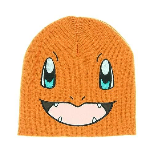 69309b2687a67c bioWorld Pokémon Charmander Knit Beanie Cap Hat