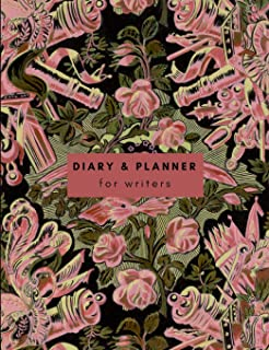 Diary and Planner for Writers: Yearly author business planner for organising your writing life and business