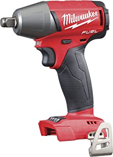 """Milwaukee M18FIWF12-0 M18 Fuel Impact Wrench Friction Ring (1/2"""") (Naked-no Batteries or Charger), 1 W, 18 V, Multi"""