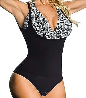 Chumian Donna Body Snellente Contenitivo Aperto Busto Shapewear Corsetto Bustino Shaper Intimo Modellante