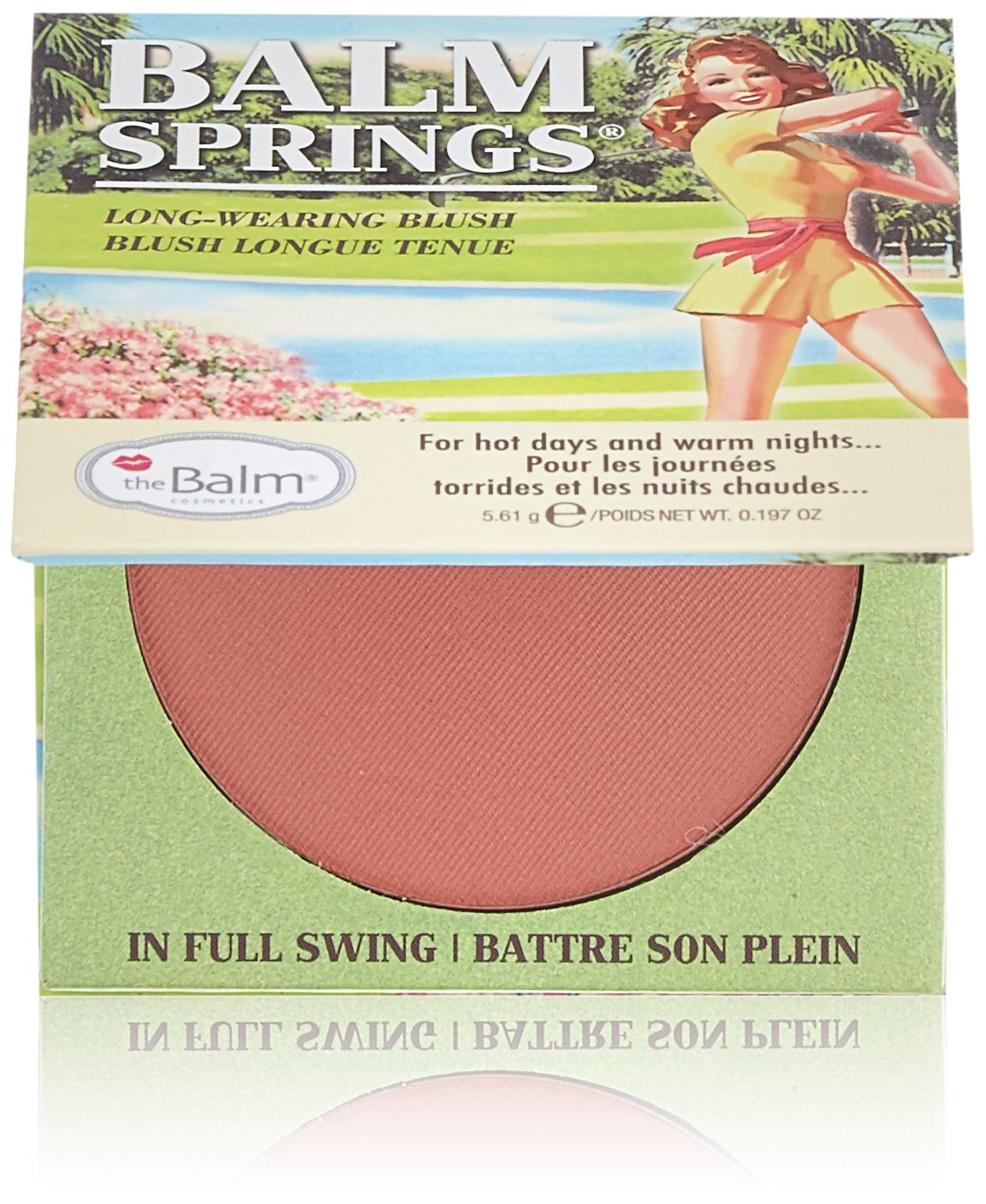 Blush hot mama da the balm Amazon Com Thebalm Earthy Rose Balm Springs Multifunctional Flawless Highlighter Blush Makeup Pressed Staining Face Powder Talc Free Fade Resistant Formula Beauty Personal Care