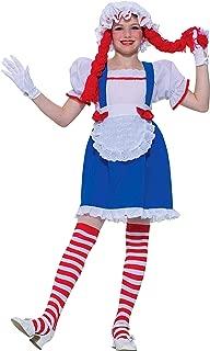 Forum Novelties Rag Doll Child Costume, Medium