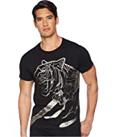 Versace Jeans - Metallic Tiger Tee Shirt