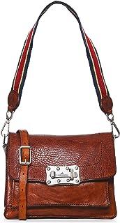 Campomaggi Women's Leather Multi Strap Crossbody Bag Brown