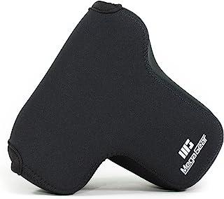 MegaGear MG887 Ultraleichte Kameratasche aus Neopren kompatibel mit Panasonic Lumix G80, G81 (12 60mm)   Schwarz