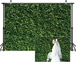 Dudaacvt 9x6 ft Nature Green Leaves Backdrops Photography Wedding or Children Birthday Background D058