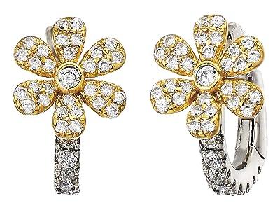 SHASHI Carina Earrings (Gold/White Gold) Earring
