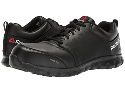 Reebok Work Sublite Cushion Work EH (Black Leather) Men