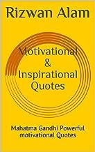 Motivational & Inspirational  Quotes : Mahatma Gandhi Powerful motivational Quotes