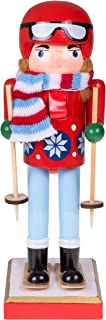 Clever Creations Skier Nutcracker | Traditional and Perfect Christmas Decor | 10