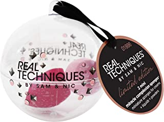 Real Techniques Holiday 2019 limited edition, mini 2 miracle complexion sponges ornament