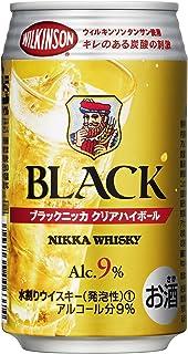 ブラックニッカ クリアハイボール [ ウイスキー 日本 350ml×24本 ]