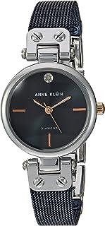 Anne Klein - Reloj de pulsera para mujer con detalles de diamantes