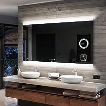 Individuell Nach Ma/ß Artforma Rund Badspiegel mit LED Beleuchtung 40cm W/ählen Sie Zubeh/ör beleuchtet Bad Licht Spiegel L33 Beleuchtet Wandspiegel Lichtspiegel Badezimmerspiegel