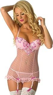 Velvet Kitten Second Date Pink Sexy Chemise Lingerie Set for Women #514547