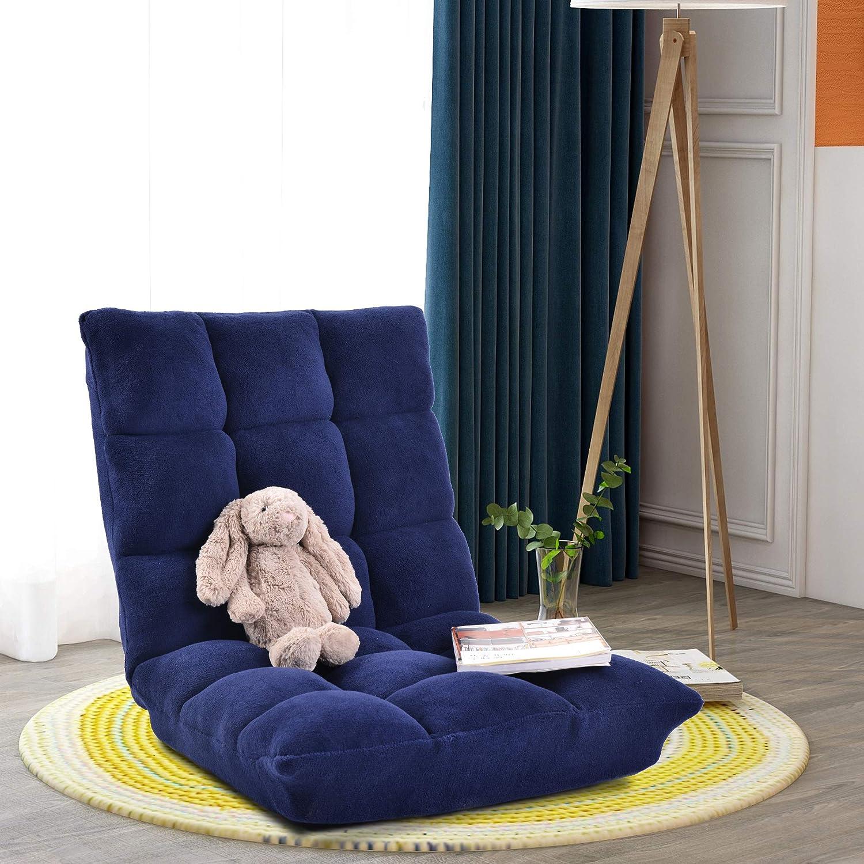 Fabric Floor おすすめ特集 Gaming Chair Upholstered Adjustab Sofa Folding Lazy 正規店