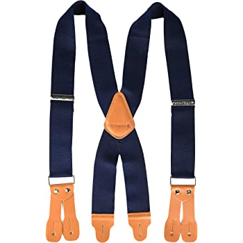 Prison Blues 54 Y-Back Suspenders Oregon Corrections Enterprises