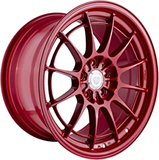 Enkei Racing Competition Red NT03+M Wheel 18x9.5-inch / 5x100 Bolt Pattern / Offset: +40mm
