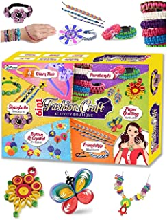 Grey Stone Fashion Craft - 6 in 1 Activity Boutique, Age 6+ (for Girls)