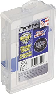 Flambeau Outdoors 1002 Tuff Tainer - 6 Compartments (Includes (2) Zerust Dividers)