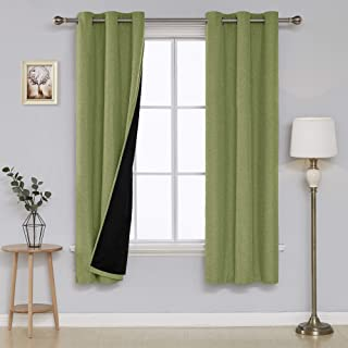 celery green curtains