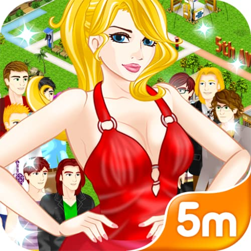 Girl Town: A Family City Game with Top Fashion, Shopping, Dating Guys, Chat, Flirt, Love, Hot Boys, Cute Pets, Competitions, Salon, Dressup and Stylist great for kids and teens.