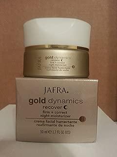 Jafra Gold Dynamics Recover Firm + Correct Night Moisturizer 1.7 Fl. Oz.