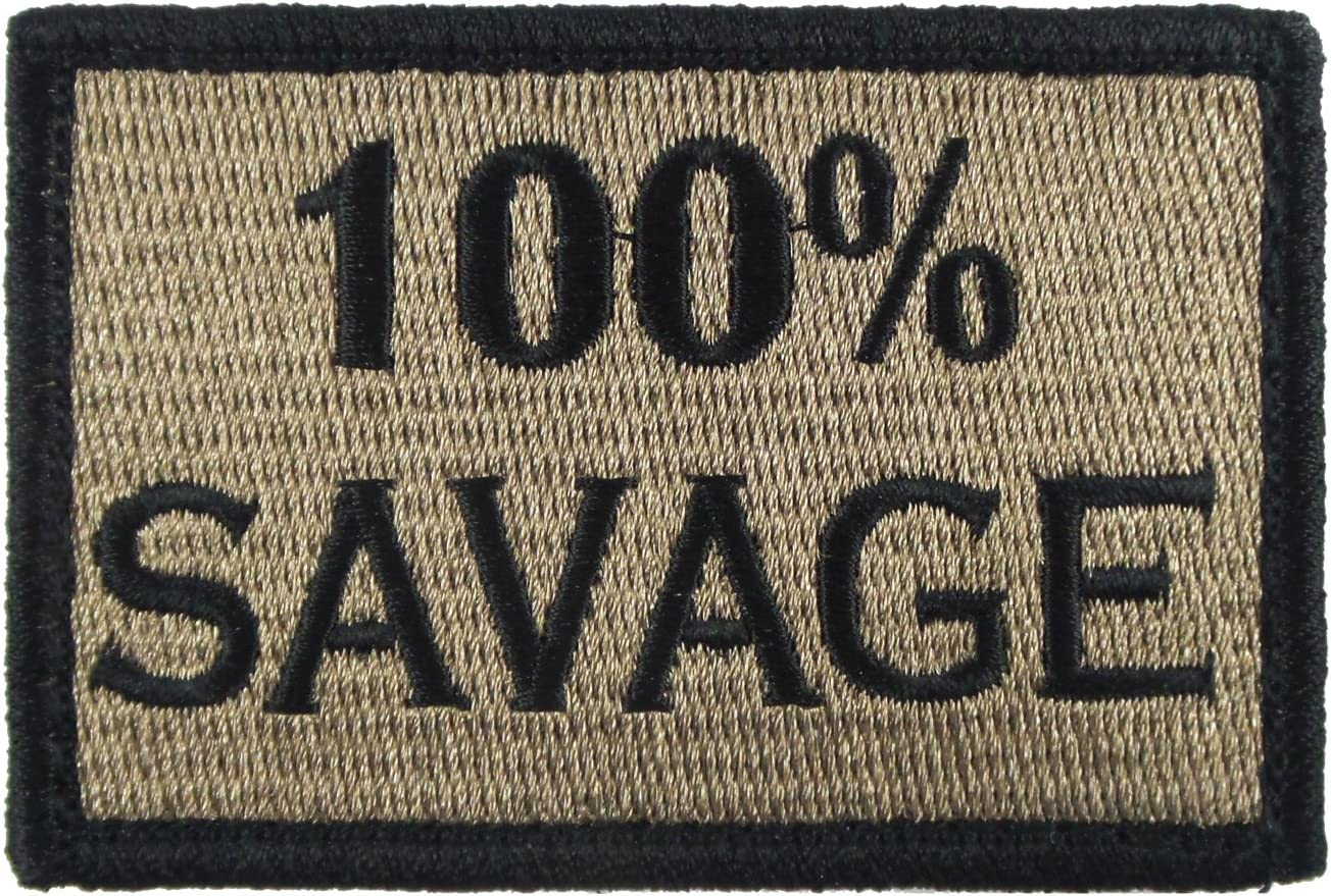 100/% Savage Patch