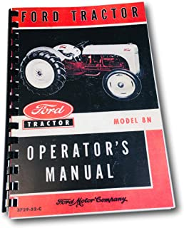 1948-1952 Ford 8N Tractor Owner's Manual Reprint