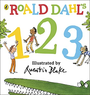 Roald Dahl's 123: Counting Board Book Dahl, Roald and Blake, Quentin