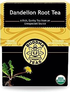 Organic Dandelion Root Tea – 18 Bleach-Free Tea Bags – Caffeine-Free Tea with a Rich, Earthy Taste, Natural Source of Vita...