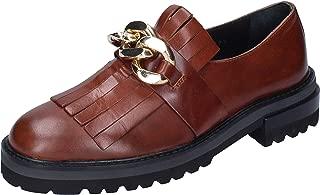 ELVIO ZANON Moccasins Womens Leather Brown