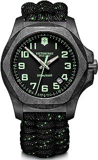 Victorinox - Hombre I.N.O.X. Carbon - Reloj de Acero al Carbono de Cuarzo analógico de fabricación Suiza 241859