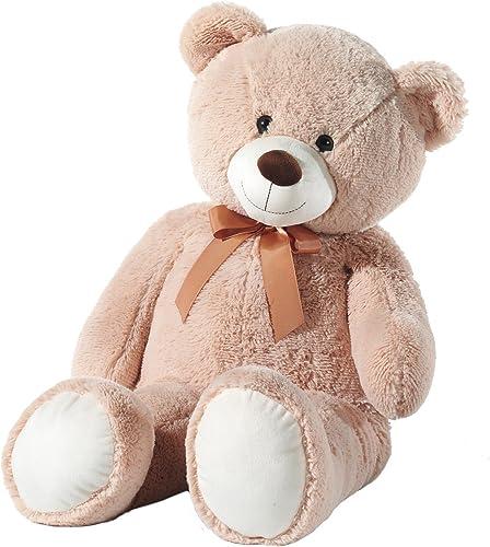 El nuevo outlet de marcas online. Heunec oso oso oso Beige con lazo, 100cm  Venta barata