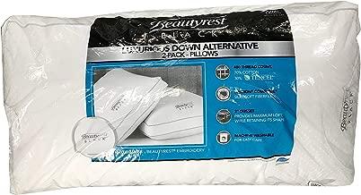 BeautyRest Black Luxurious Down Alternative Pillows 400 Thread King - 2 Pack