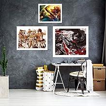 AJ WALLPAPER 3D Attack On Titan Team 3079 Anime Combine pared murales papel pintado Angelia UK, Vinilo (autoadhesivo)., X Large