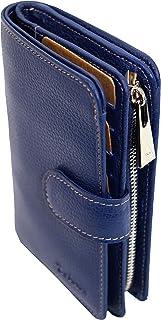 KATANA 953123 - Monedero de piel (11 colores disponibles), azul cobalto (Azul) - 953123