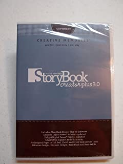 Creative Memories StoryBook Creator Plus 3.0 + 2 Bonus Discs
