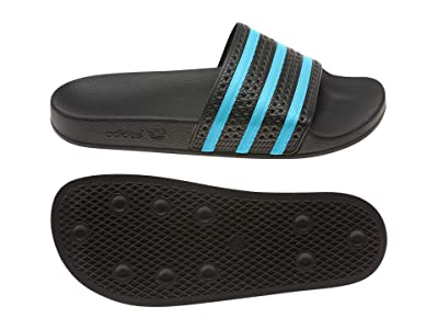 adidas Adilette (Core Black/Blue Glow/Core Black) Men