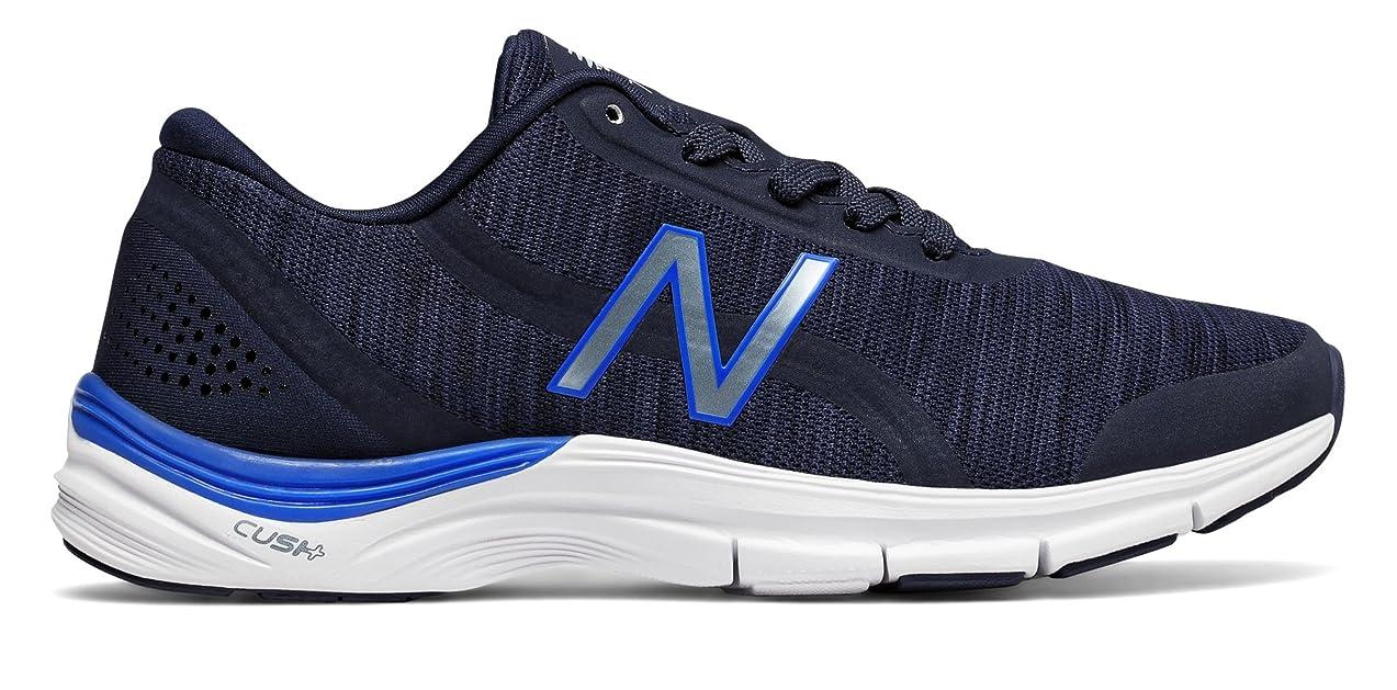 つかの間醜いペルメル(ニューバランス) New Balance 靴?シューズ レディーストレーニング 711v3 Heathered Trainer Pigment with Vivid Cobalt Blue ピグメント ヴィヴィッド コバルト ブルー US 6.5 (23.5cm)