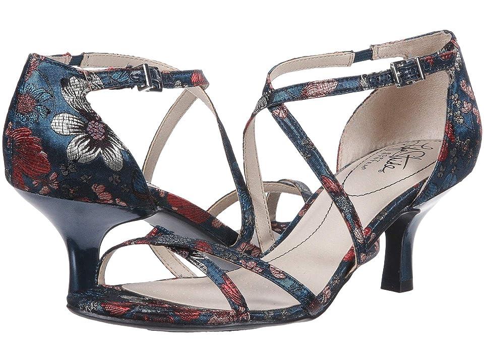 LifeStride Flaunt (Blue Multi) Women's Sandals