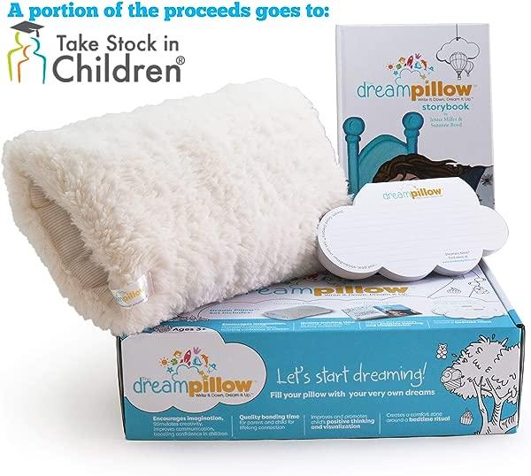 原创梦幻枕头超柔软毛绒玩具拥抱枕头你可以拥抱促进更好的睡眠常规安慰伴侣包括枕头故事书 60 个梦想愿望奖得主