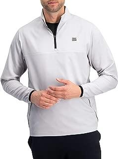 Mens Windbreaker Jackets - Half Zip Golf Pullover Wind Jacket - Vented, Dry Fit