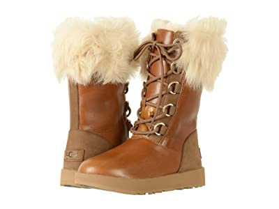 UGG Aya Waterproof (Chestnut) Women