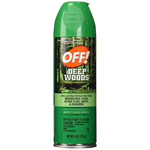 8a01b57904b Off Deep Woods Insect Repellent 6 Ounce Spray (2 Pack). by OFF! 4.5 out of 5  stars ...